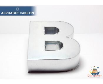 "Large Alphabet B Birthday Cake Tin / Pan 14"" X 8"""