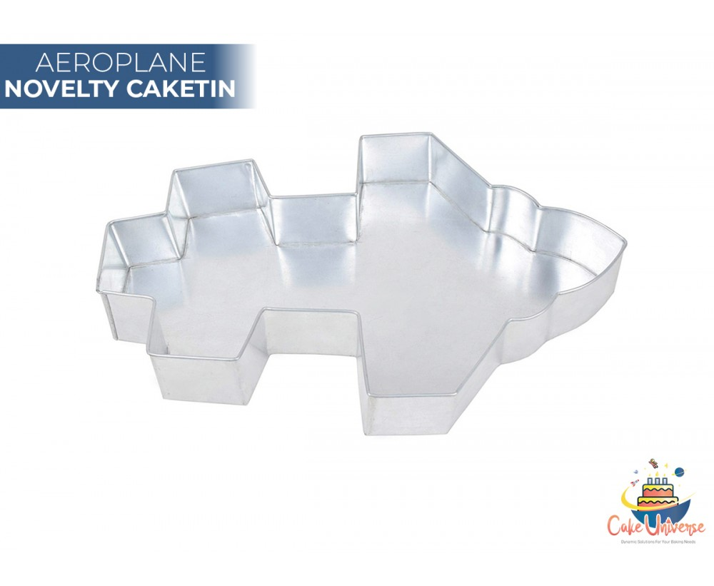Aeroplane Shape Novelty CakeTin / Pan For Birthday Occasions