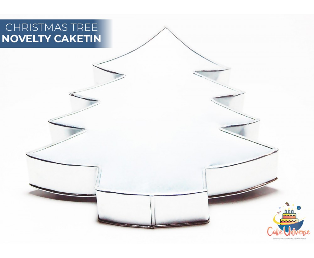 Christmas Tree Shaped Novelty Cake Tin / Pans