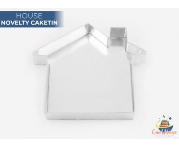 House Shape Novelty CakeTin / Pan For Birthday Occasions