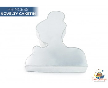 Princess Shape Novelty CakeTin / Pan For Birthday Occasions