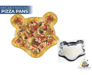 Mickey Mouse Novelty Shape Pizza Pan