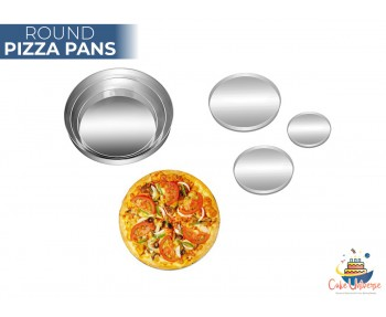 Pizza Pan Round Shape -  Set Of 3 Size 9,11,13 Inch
