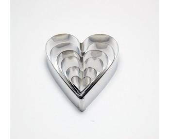 Heart Shape Cookie Cutter Set