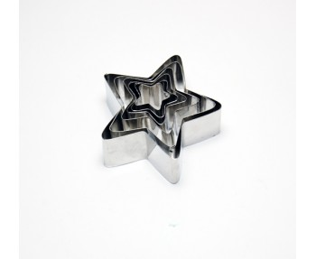 Star Shape Cookie Cutter Set